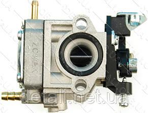 Карбюратор мотокосы ZOMAX 1E36F (праймер отдельно) ZMG3302/3303 (1класс)