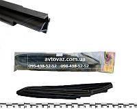 Уплотнитель опускного стекла двери ВАЗ 2170 Приора рамочный верх (к-т 4 шт.) AD Plastik