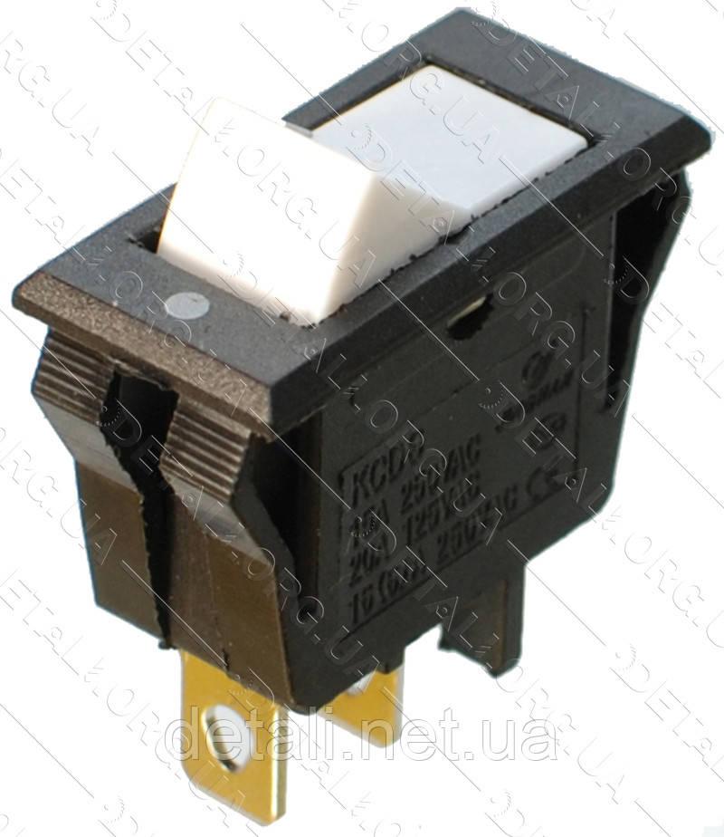 Тумблер 2 положення 3 контакту 14*32 h 21 mm 16A