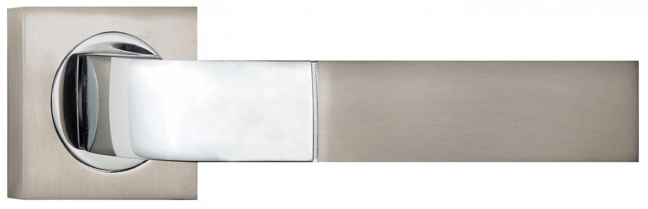 Дверні ручки SIBA Belek матовий нікель/хром