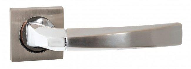 Дверні ручки SIBA Didim KB матовий нікель/хром