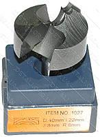 Фреза Globus Item 1027 D40mm l22mm d8mm R8mm