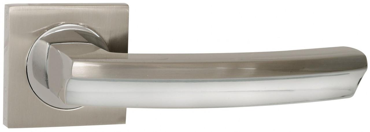 Дверні ручки SIBA Likya KB матовий нікель/хром