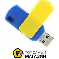 Флешка usb 2.0 Goodram Colour 32GB Ukraine Blue/Yellow (UCO2-0320BYR11)