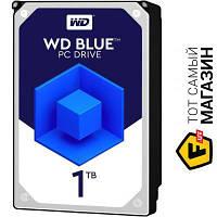 """Western Digital SATA 1TB (WD10EZEX) Caviar Blue 3.5"""" sata iii (6.0 гб/с)"""