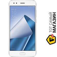 ASUS ZenFone 4 ZE554KL 4/64GB White (ZE554KL-6B011WW) мобильный телефон имиджевые, музыкальный сенсорный моноблок gprs, edge, 3g, 4g - белый