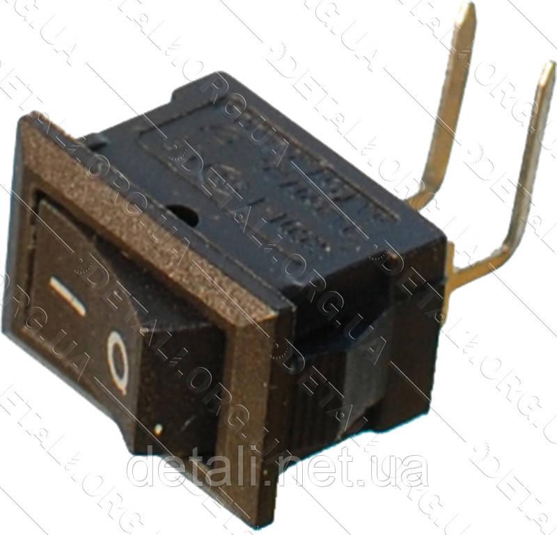 Тумблер 2 положення 2 контакту кутових 10*15 mm 3A