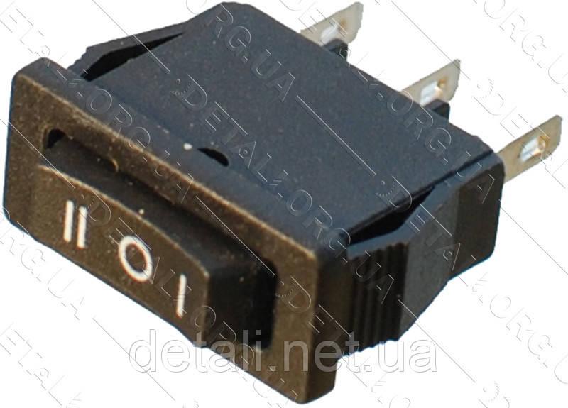 Тумблер 3 положения 3 контакта 10*21 mm