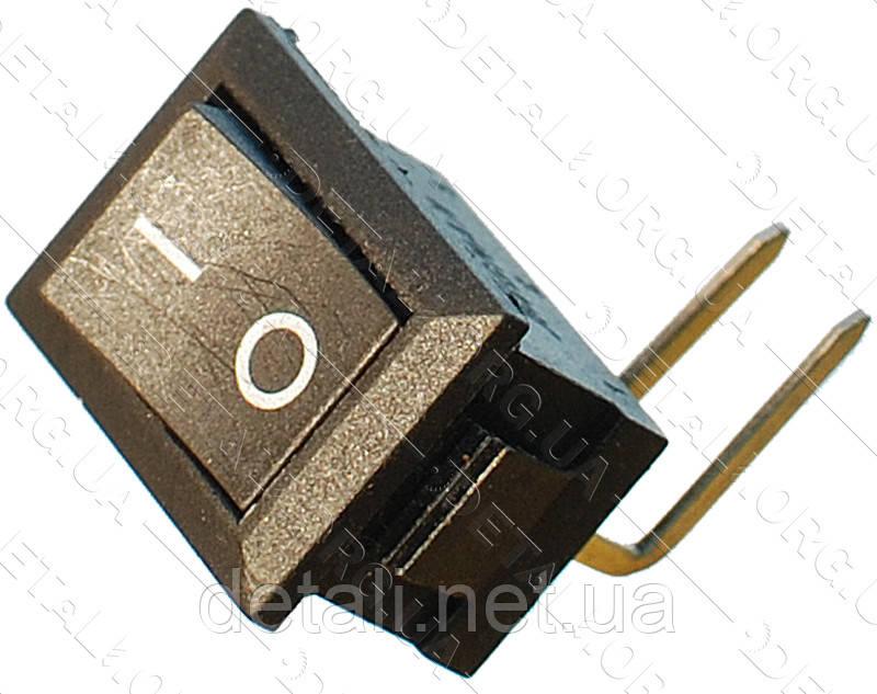 Тумблер 2 положення 2 контакту кутових 15*21 mm 6A