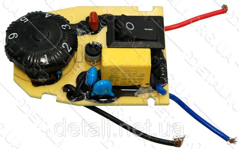 Кнопка с регулятором оборотов реноватора Зенит ЗВШ-410