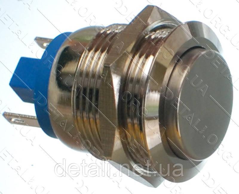 Кнопка антивандальна d22mm різьблення 19mm h30mm 2 контакту