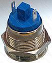 Кнопка антивандальна d22mm різьблення 19mm h30mm 2 контакту, фото 2
