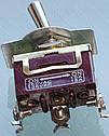 Тумблер антивандальний 13*29 різьблення 12mm 3 контакту 10A, фото 2
