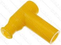 Насвечник T-образный 90° желтый