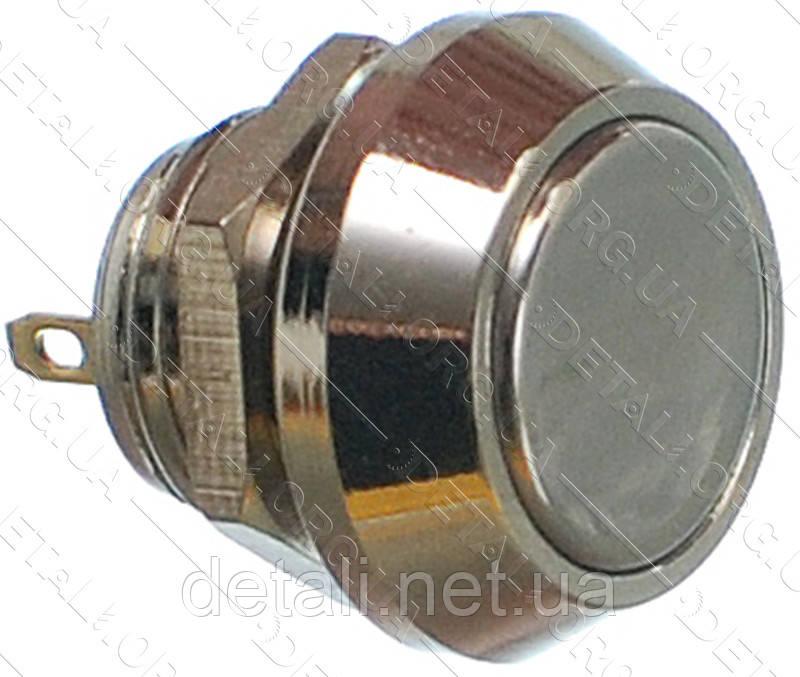 Кнопка антивандальна d18mm різьблення 12mm h16mm 2 контакту