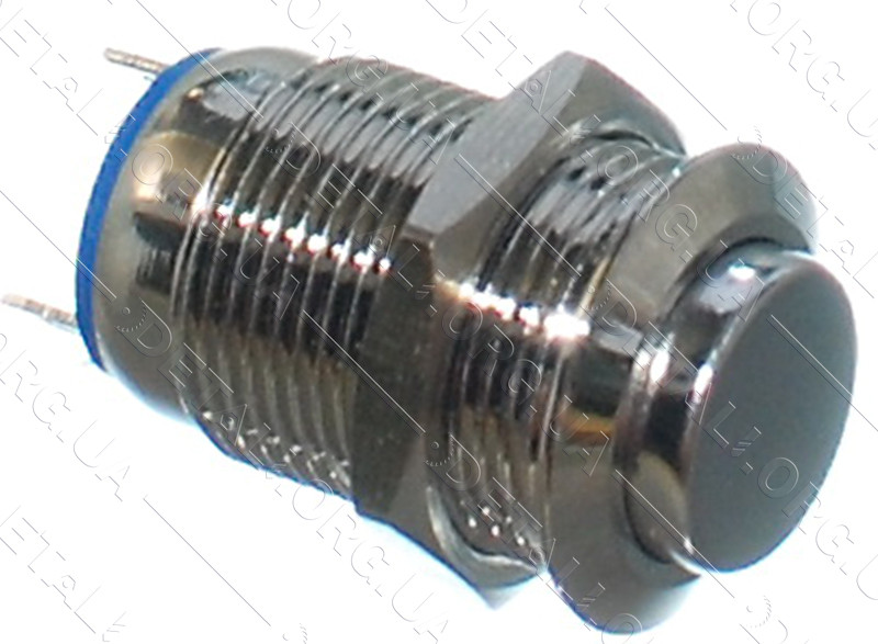 Кнопка антивандальная d14mm резьба 12mm h20mm 2 контакта