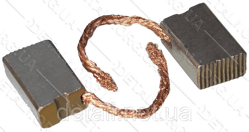 Щетки меднографитовые 8х11,5х17 выход сбоку (2 шт)