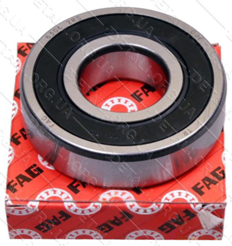 Подшипник FAG 607 RS(7*19*6) резина зазор С3