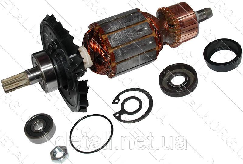 Якір перфоратор Bosch GBH 5-38 оригінал 1614011083 (185*46 7-з прямо)