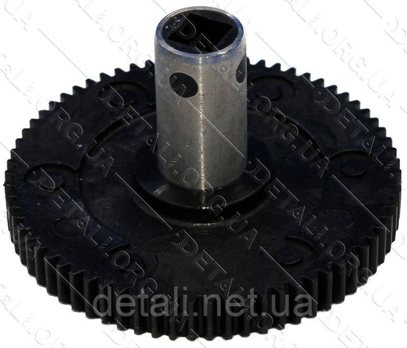 Шестерня под шнек мясорубки Хозяюшка (D72/16 мм, H41/10 мм)