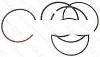 """Кольца поршневые мотоблок 168F (6,5Hp) 0,25 d 68,25мм """"DIGGER"""""""