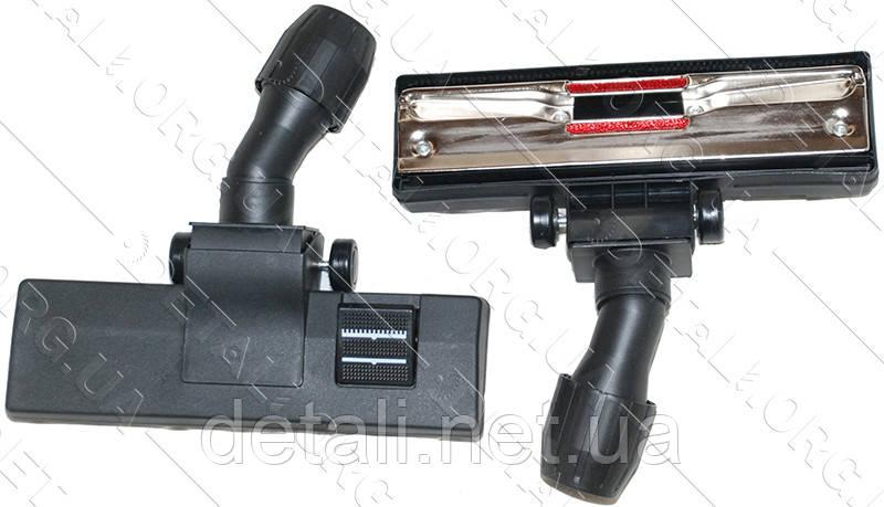 Щетка для пылесоса ковровая универсальная открытые колеса D32-35 ZX02