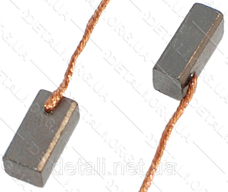 Щетки меднографитовые 4х5х10 (пара)
