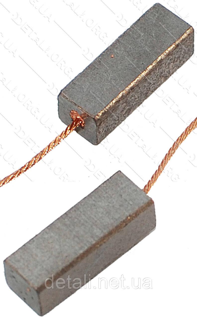Щітки меднографитовые 6х6,5х18 (2 шт)