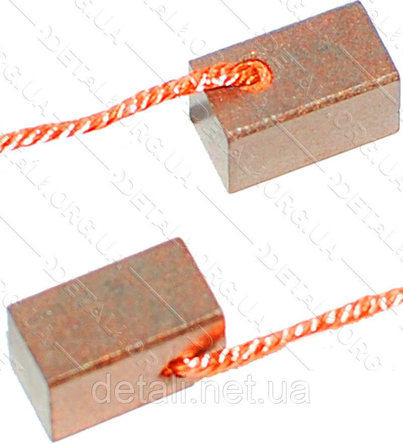 Щетки меднографитовые 6,5х6,5х11 (пара)