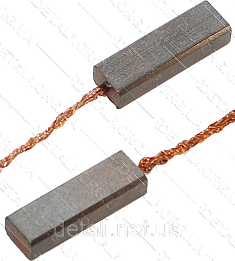Щітки меднографитовые 4х6х18,5 (2 шт)