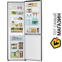Двухкамерный холодильник Hitachi R-BG410PUC6GS no frost (общий) серебристый
