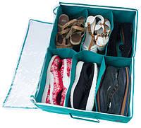 Органайзер для обуви на 6 пар Organize Lzr-O-6 лазурь R176241