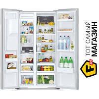 Side-by-side холодильник Hitachi R-S700PUC2GS no frost (общий) серебристый