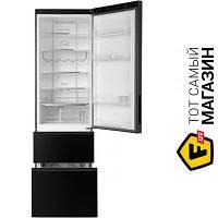 Трехкамерный холодильник Haier A2F737CDBG no frost (общий) черный