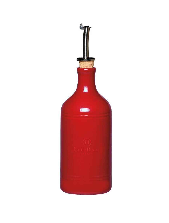 Бутылка для масла Emile Henry 400 мл красная 340215