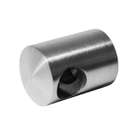 KLC-11-08-01 Кріплення ригеля до квадратної труби, тупиковий лівий, під ригель 12 мм