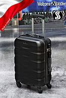 Чемодан Fly 960 S малый ручная кладь на 4 колесах  BLACK