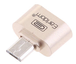 OTG адаптер MicroUSB Earldom ET-OT01