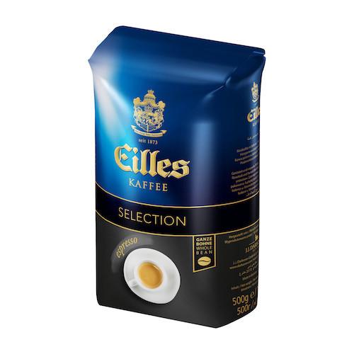 Кофе в зернах  EILLES Selection Espresso 500 г 80% арабика, 20% робуста