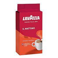 Кофе Молотый 250 гр Lavazza il Mattino 70% Арабика  30% Робуста