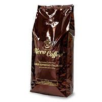 Кофе в зернах Ricco Coffee Gold Espresso 1 кг 30% Арабика  70% Робуста, фото 1