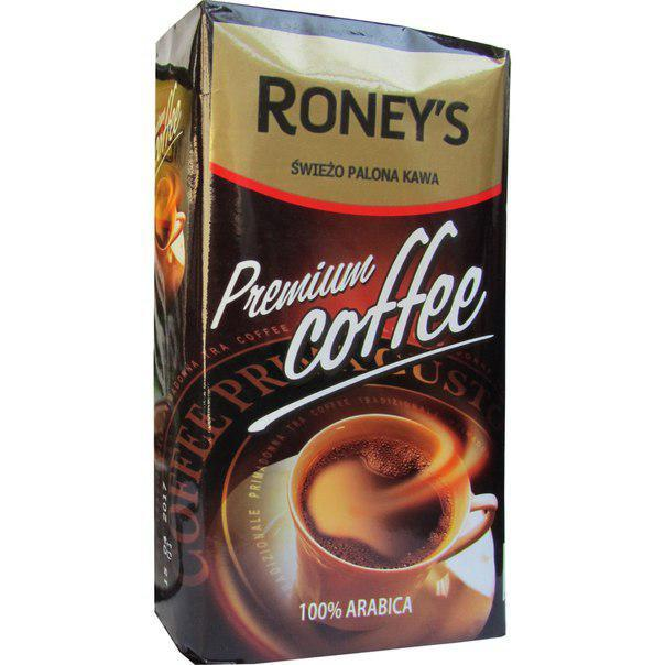 Кофе Молотый 250 гр Roney's Premium Coffee 100% Арабика