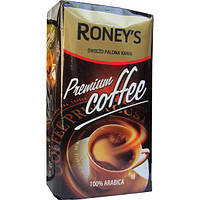 Кофе Молотый 250 гр Roney's Premium Coffee 100% Арабика, фото 1