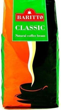 Кава в зернах Baritto Classic 1 кг
