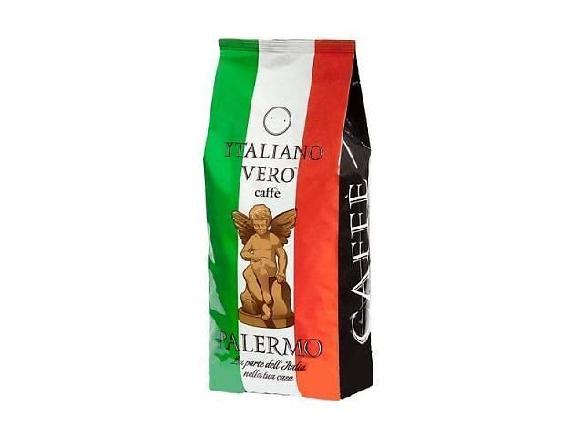 Кофе в зернах Italiano Vero Palermo 1 кг 50% Арабика  50% Робуста
