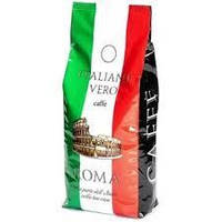 Кофе в зернах Italiano Vero Roma  1 кг зерна кофе