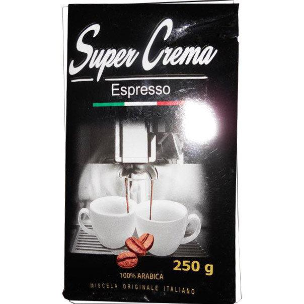 Кофе Молотый 250 гр Super Crema Espresso 100% Арабика