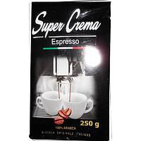 Кофе Молотый 250 гр Super Crema Espresso 100% Арабика, фото 1