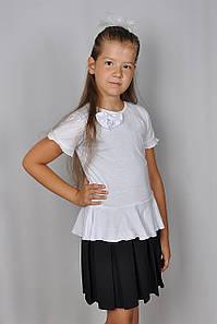 """Блуза школьная для девочки """"Мальвина"""""""
