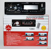 Магнитола в машину Pioneer 1283 ISO - MP3+FM+USB+microSD-карта